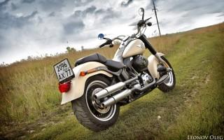 Harley Davidson Harley-Davidson Softail 2009 FLSTF Fat Boy, описание модели