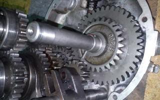 Мотоцикл Урал кпп с задней передачей