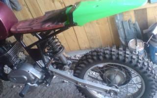 Как из Мотоцикла Минск сделать Кроссовый Мотоцикл