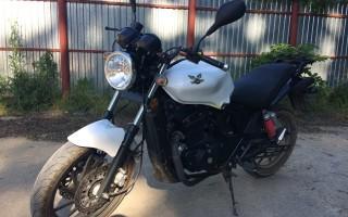 Мотоцикл Минск на кубани