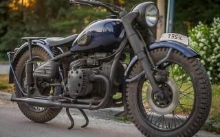 Мотоцикл Урал м 72