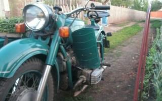 Мотоцикл днепр 9