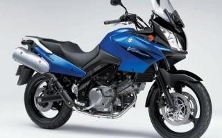 Мотоцикл сузуки в стром 650