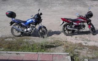 Китайский Мотоцикл pegas