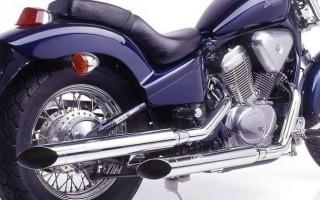 Honda Shadow 600 глушитель ломы