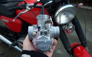 Карбюратор кроссового Мотоцикла