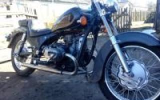 Мотоцикл Урал 1980