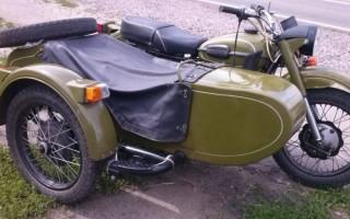 Мотоцикл Урал технические