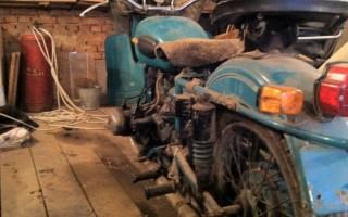 Восстановление Мотоцикла Урал