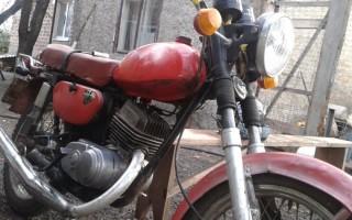 Мотоцикл Минск макака