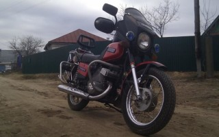 Ксенон на мотоцикл иж
