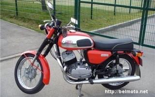 Гайка колена Мотоциклов Ява 634