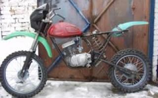 Устройство вилки Мотоцикла Минск