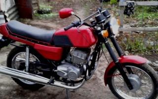 Мотоцикл Ява харьков