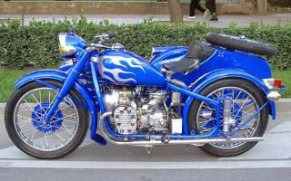 Выхлоп Урал Мотоцикл