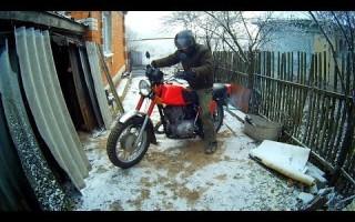 Как завести Мотоцикл иж Планета 5