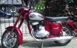 Мотоцикл Ява 250 технические характеристики