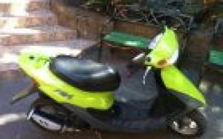 Скутер Honda dio zx