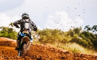 Катание на кроссовых Мотоциклах