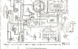 Схема электрооборудования иж юпитер