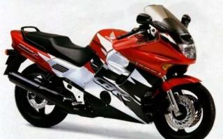 HONDA CBR-1000F, описание модели