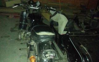 Тамбовская область Мотоцикл днепр