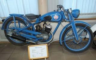 Первый Мотоцикл Минск