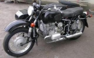 Мотоцикл Урал днепр б у
