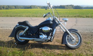 вилка Honda Shadow