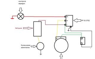Подключение реле зарядки Мотоцикла Урал