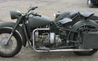Дизельный Мотоцикл днепр