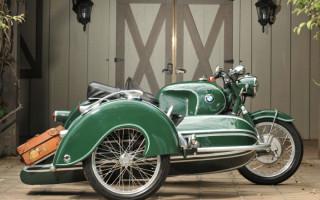 Мотоцикл BMW ретро