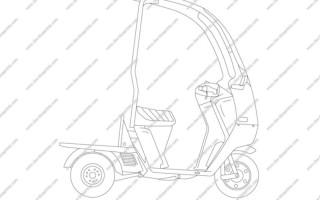Скутер Хонда джиро х мануал