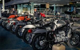 Новый Мотоцикл Урал с завода