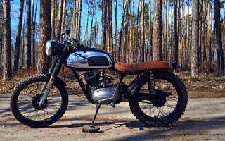 Мотоцикл Минск кастом
