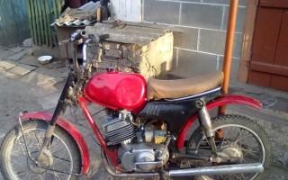 Троит Мотоцикл Минск