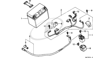 Honda VFR 800 аккумулятор