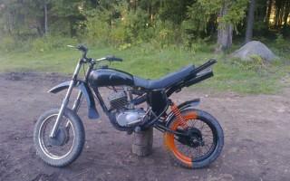 Переделка Мотоцикла Минск под кросс