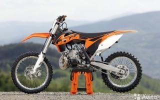 Кроссовый Мотоцикл ктм 250