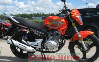 Мотоцикл велс Планета 150