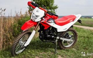 Кроссовый Мотоцикл irbis