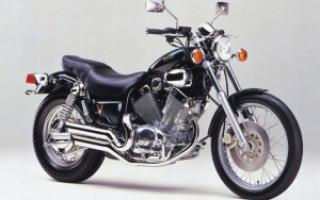 YAMAHA Virago XV400, описание модели