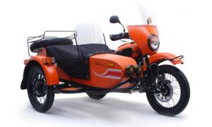 Новый Мотоцикл Урал с коляской