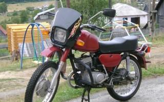 Мотоцикл Ява восход