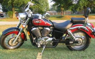 Honda Shadow vt 750 ace