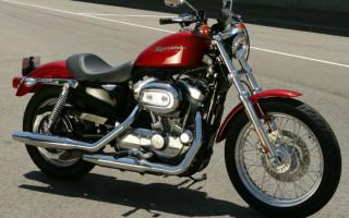 Подготовка к дальняку Harley Davidson 883 sportster