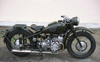 Первый Мотоцикл Урал