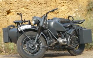 Военные Мотоциклы БМВ
