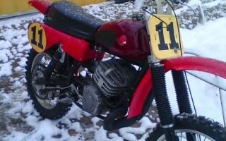Как завести Кроссовый Мотоцикл