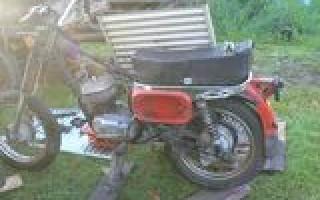 Разборка Мотоцикла восход